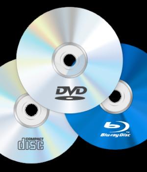 Media CD/DVD